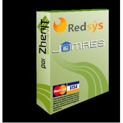 Pasarela de pago Redsys SHA256 para JomRes