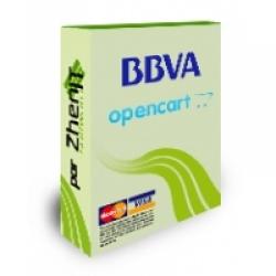 Pasarela de pago BBVA para OpenCart