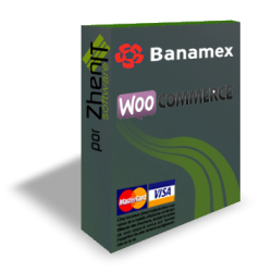 Pasarela de pago BANAMEX / EVO Payments para WooCommerce