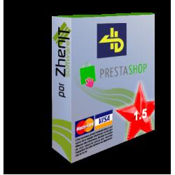 Pasarela de pago 4B para Prestashop 1.5