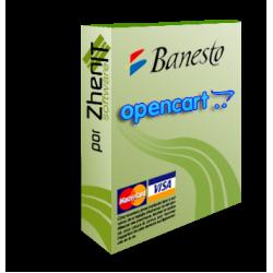 Pasarela de pago Banesto para OpenCart