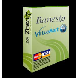 Pasarela de pago Banesto para VirtueMart 2