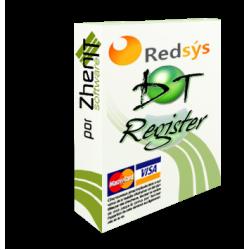 Pago Redsys SHA256 para DT-Register