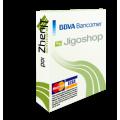 Pasarela de pago BBVA Bancomer para JigoShop