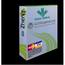 Pasarela de pago Ruralvia para WordPress WP e-commerce