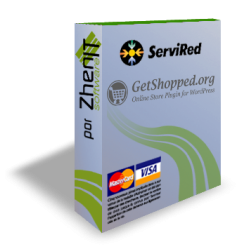 Pasarela de pago Servired/Redsys SHA256 para WordPress WP e-commerce