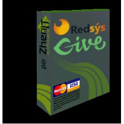 Pasarela de pago Redsys Give (Advanced)