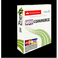 Pasarela de pago Santander Elavon para WooCommerce