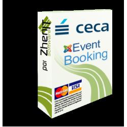 Pasarela de pago CECA para Joomla Event Booking