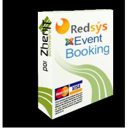 Pasarela de pago Redsys SHA256 para Joomla Event Booking